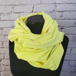 Lululemon Clarity Yellow Vinyasa Scarf